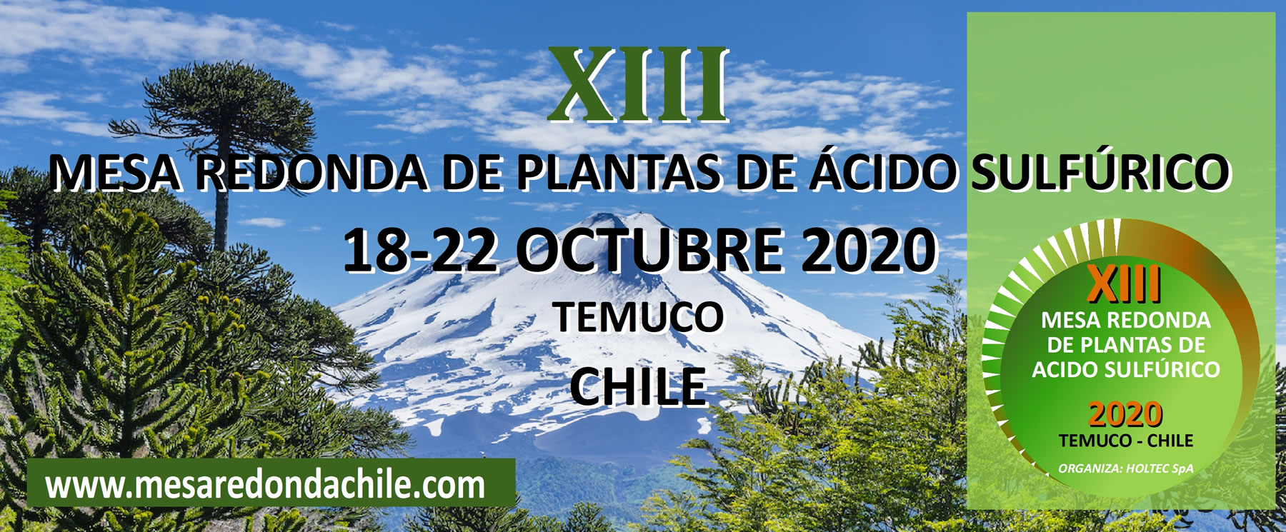 XII Round Table of Sulfuric Acid Plants • 21 - 25/10/2018 • Puerto Varas, Chile